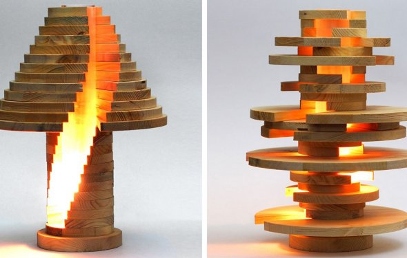 DIY Shape-Shifting Lamp That