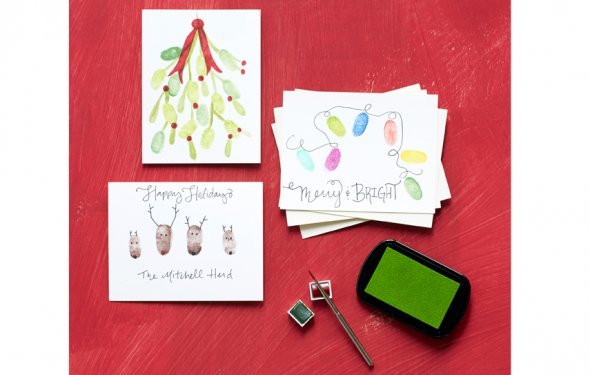 Thumbprint cards