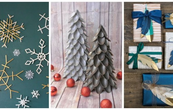 24 Easy Christmas Crafts