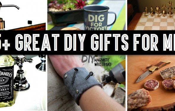 35+ Great DIY Gifts for Men