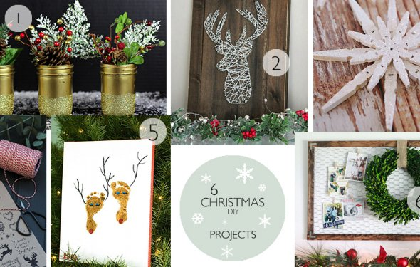 6 CHRISTMAS DIY PROJECTS