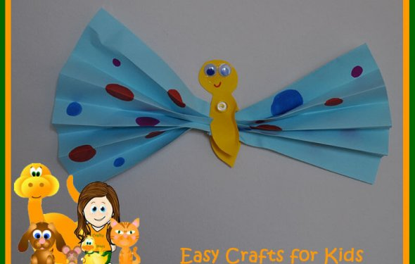 Simple Craft Ideas For Kids With Paper