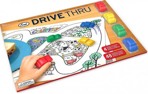 Drive Thru Crayon Car and