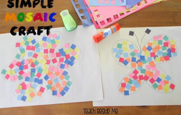 Simple Mosaic Craft
