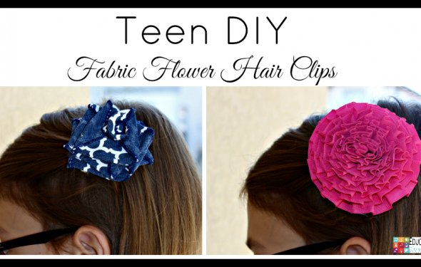 Flower hair clips are popular