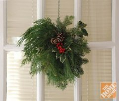Christmas Craft Ideas: Wreath Alternative
