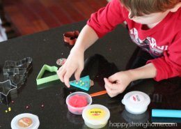 Clay Ornament decorating