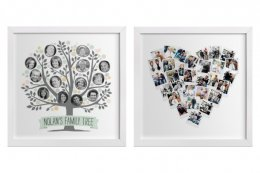 Creative photo gifts for baby showers | custom wall art from Minted, perfect for a nursery