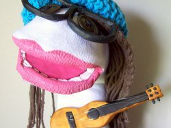 DIY Rock Star Puppet