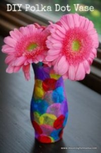 diy vase kids activity