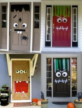 Halloween monster doors: Fun, easy DIY for kids