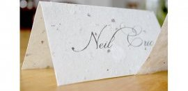 handmade paper place cards 2