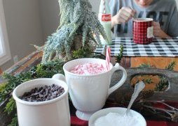 Hot chocolate cake mug toppings
