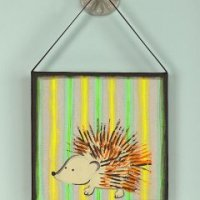 Image of Porcupine Art With A Fork