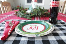 Joy table setting
