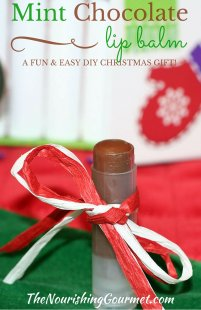 Mint Chocolate Lip Balm: A Fun and Easy DIY Christmas Gift Idea!