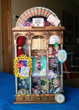 monkees artist concert shrine with ticket