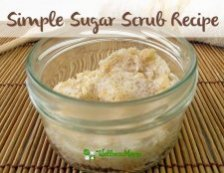 Simple Sugar Scrub from wellness mama