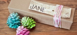 Homemade Christmas party favors for adults