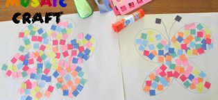 Simple Craft for Kids with paper