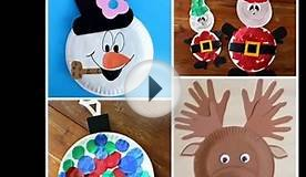 Christmas Paper Plate Crafts For Kids| Beautiful Handmade
