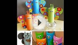 Kids paper crafts ideas