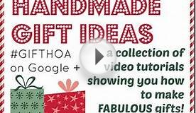 Last Minute Quick and Easy Handmade Gift for a Crafter