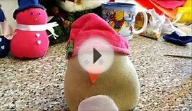 Penguin homemade soft toy craft (Christmas gift idea)