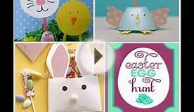 Simple Easter paper crafts ideas for kids