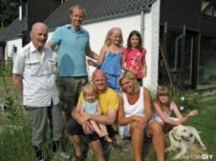 Visiting our Danish Family